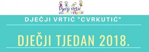 DJEČJI TJEDAN 2018.