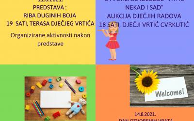 Dani dječjeg vrtića Cvrkutić 2021.
